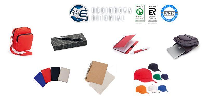 Merchandising Y Productos Personalizados Para Centros De Formación Y Empresas